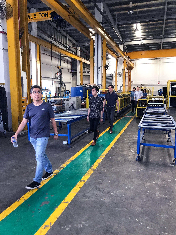 Ciap Visit To M Metal Factory M Metal Pte Ltd