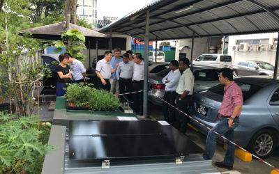 SH Ng Visit to M Metal Factory