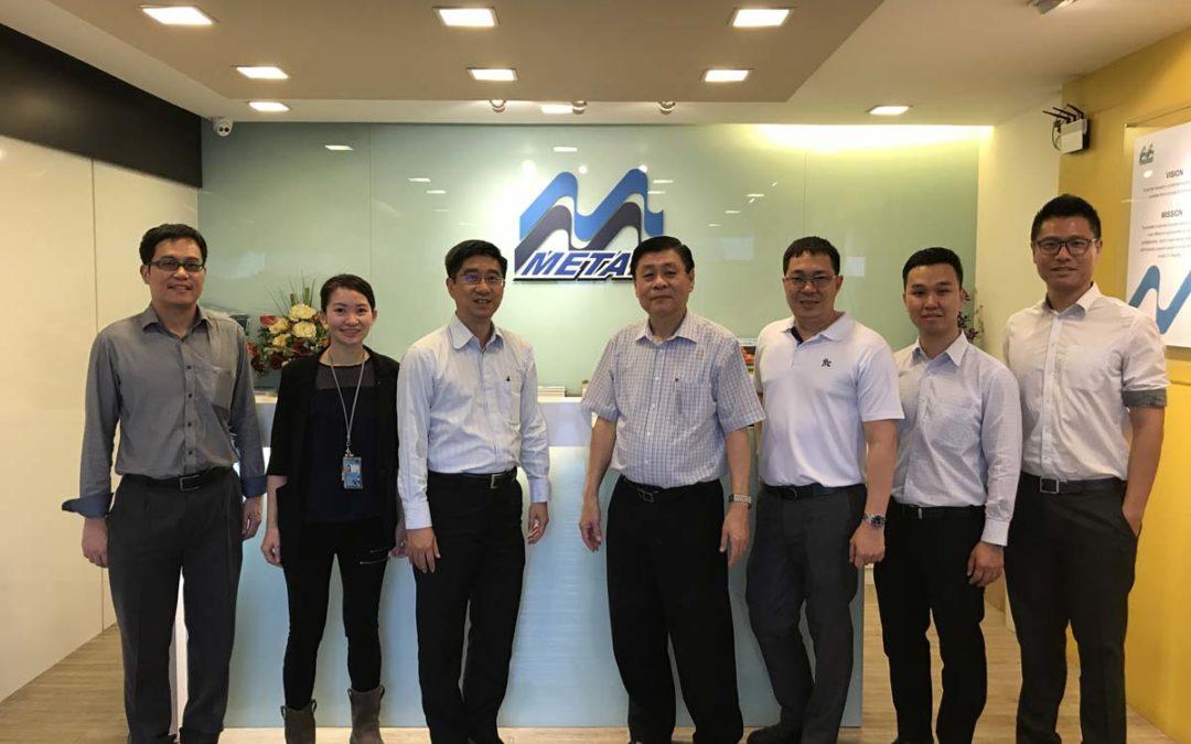 JTC Visit to M Metal Factory