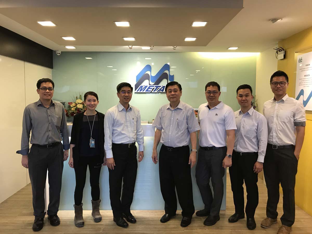 Jtc Visit To M Metal Factory M Metal Pte Ltd