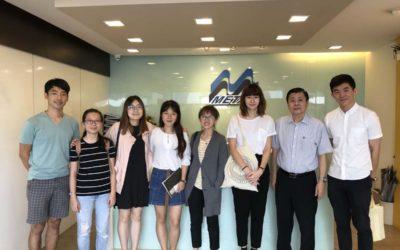 NUS Visit to M Metal Factory