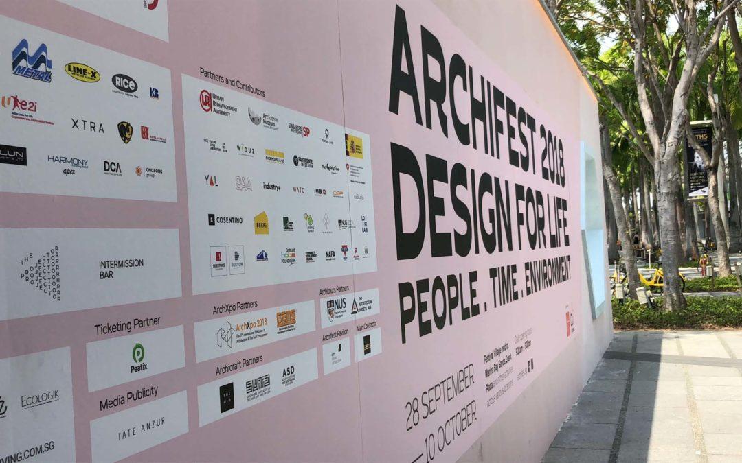 Archifest Pavilion 2018