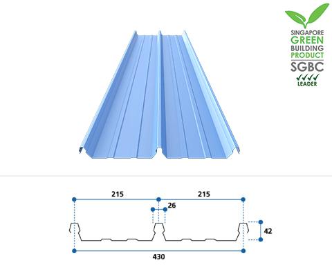 Roofing & Walling - M Metal Pte Ltd