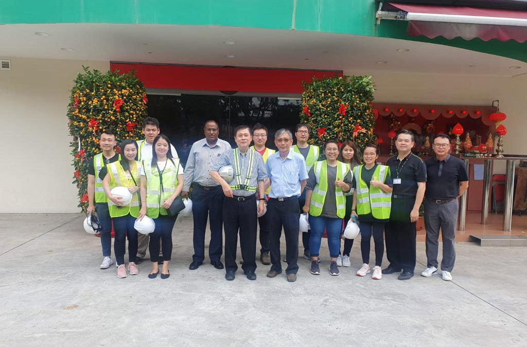 Aecom visit to M Metal, TTJ and Yongnam