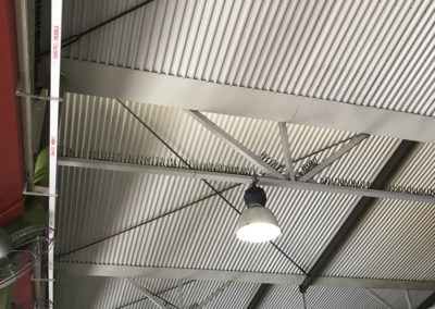 Ceiling and Fascia supplied my M Metal