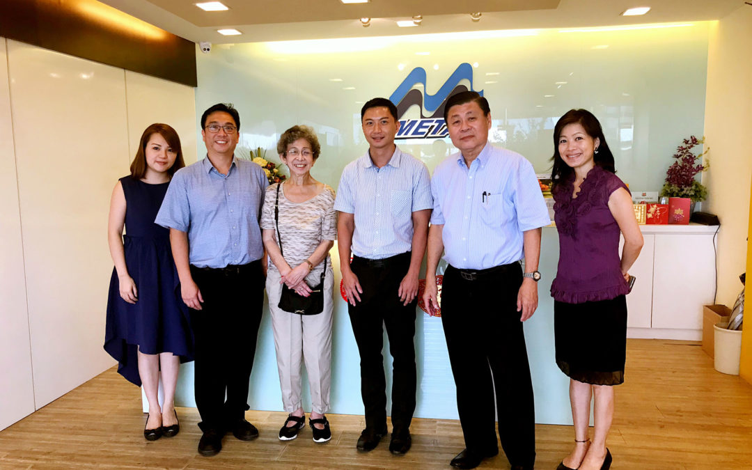SH Lim Architect Visit to M Metal Factory